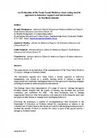 NI Evaluation Paper Nov 2011